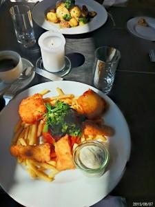 Fish&Chips in der Beisserei
