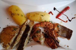 Casa Ricardo's Fischgrillteller