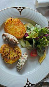 Tartare de Matjes à la salade