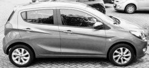 Der Opel Karl / Vauxhall Karl, entwickelt in Südkorea, von der GM-Tochter Daewoo, auf einer zu schwereren GM-Platform.