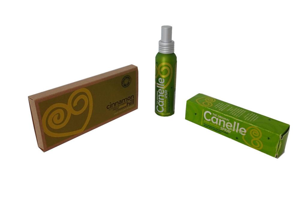 Canelle Spray, een natuurlijke insectenwerend middel op basis van kaneel olie, houdt muggen weg - ⚕️ - redt uw vakantie!