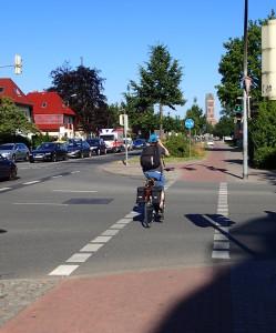 Lubsche Straße in Wismar