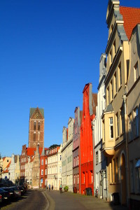 Wismar is a UNESCO world heritage site.